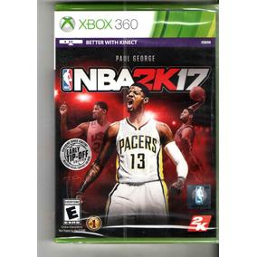 Nba 2k17 2 K17 Mídia Física Xbox 360