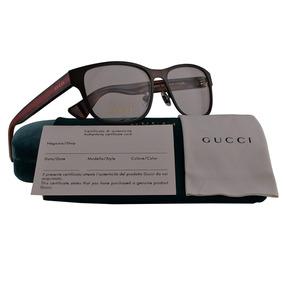 c6856915899ab Óculos Gucci Eyeglasses Gg 1054 Bcr Acetate Havana - Óculos no ...
