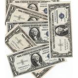 Dolar Sello Azul 1935 Ateo Certificado De Plata G, Xf