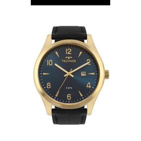 f70f66b9866 Relógio Technos 2135mrx 2a Em Couro Classic Original