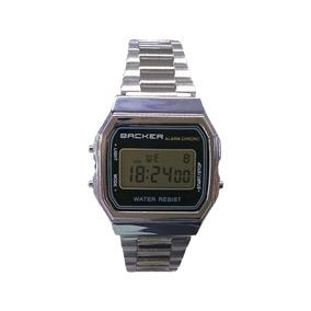 Relógio Backer - Prata