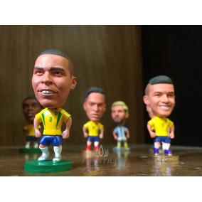 Mini Craques Kodoto - Ronaldinho, Ronaldo, Messi, Cr7