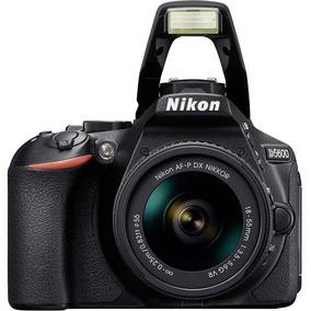 Câmera Digital Nikon D5600, Af-p Dx 18-55mm Vr, 24.7mp, Ful