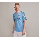 fac6c38d37 Camisa Manchester City 18 19 S n° Nike Oficial Torcedor