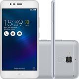 Smartphone Asus Zenfone 3 Max 16gb 4g 13mp - Prata (vitrine)