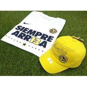 América Campeón Playera Siempre Arr13a Y Gorra Unitalla 432b87f34fc