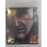 Metal Gear Solid Guns Of Patriots Ps4