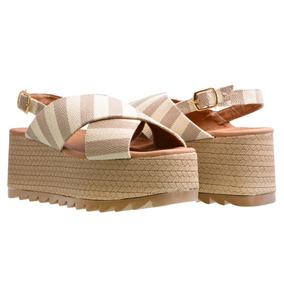 Sandalia Alta Para Dama De Moda