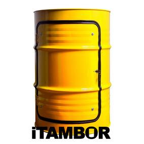 Tambor Decorativo Amarelo - Receba Em Quatro Pontes