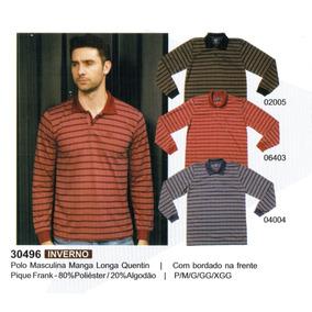 9a7163768c Camisa Polo Malha Confort 350505 · Camisa Polo Manga Longa Masculino - Ref.  30496 E 30497