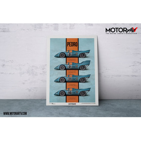 Live Fast Stage 2 - 1970 Porsche 917k - Racing Print