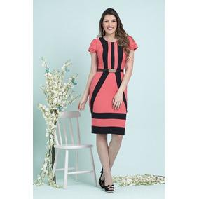 Vestido Evangelica Elegante Do Pp Ao G5 Cod#0b