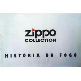 Pôster Zippo História Do Fogo 34x100 Cm