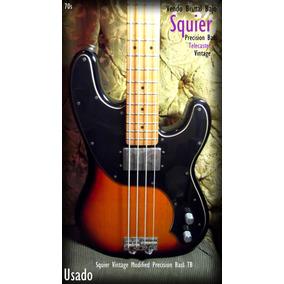 Vendo Brutal Bajo Fender Squier Vintage Modified Precision