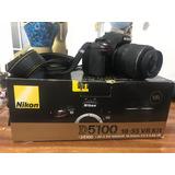 Camara Nikon D 5100