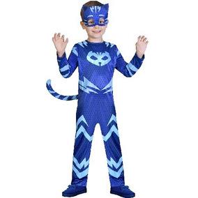Disfraz Pj Mask Gecko Ululette Catboy Talle 2 Y 3 Vulcanita