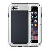 Capa Lunatik Gorilla Glass Anti Shock iPhone 7 Plus Branca