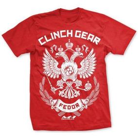 Camisa Fedor Clinch Gear Mma Ufc Camiseta 8bbd656f5c7