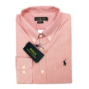 Camisa Social Ralph Lauren Fino Slim Custom Fit Estate - Camisas no ... 5d4b94d80d8