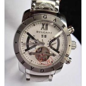 Relógio Bv Iron Man Prata F/ Branco Original
