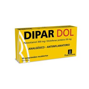 Dipar Dol X 10 Comprimidos Recubiertos