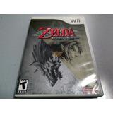 Juego De Wii Original,the Legend Of Zelda Twiligt Princess