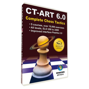 Ct-art 6.0   Completo Programa De Táticas De Xadrez