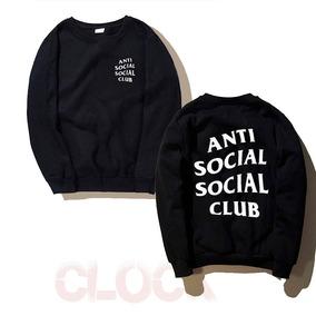 Anti Social Club Sudadera - Sudaderas y Hoodies Con Gorro de Hombre ... bb7c08ca691