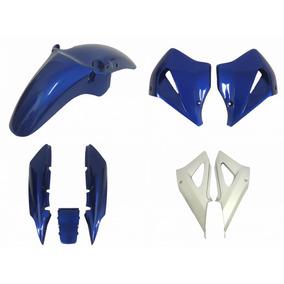Carenagem Aba Tampa Rabeta Paralama Twister 250 Azul Per 02