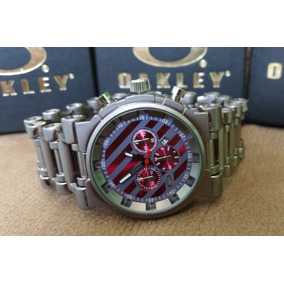 Relogio Oakley Crush Chumbo Fundo - Relógios De Pulso no Mercado ... 5e1f244284