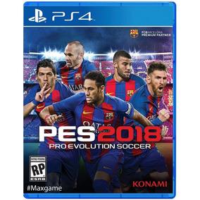 Juego Ps4: Pro Evolution Soccer 2018