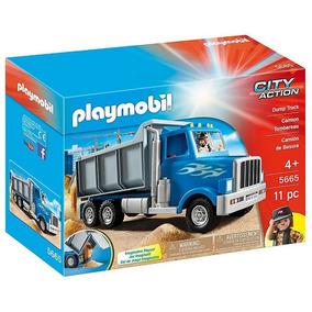 Playmobil Caminhao Basculante Caçamba City Action 5665 Sunny