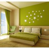Espejo Para Salas, Baños, Dormitorios En Forma De Estrellas