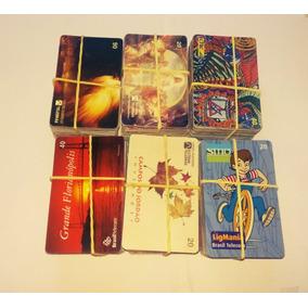 Lote Com 600 Cartões Telefônicos Variados