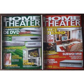 Home Theater - Lote Com 2 Revistas Por R$ 22,00