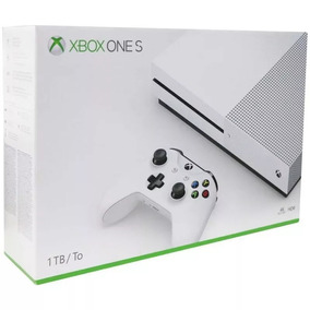Console Xbox One S 1tb Branco Novo