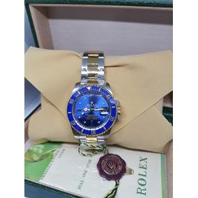 Relógio Rlx S.u.b M. Acabamento Eta Caixa E Certificado Orig
