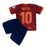 Camiseta Barcelona Messi Infantil no Mercado Livre Brasil 88a486ac57d91