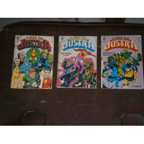 Liga Da Justiça Numeros 1, 2 E 4 Anos 90 - 20,00 Os 3 Gibis