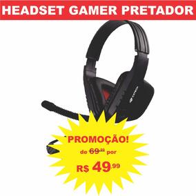 Fone De Ouvido Headset Gamer Pc Com Microfone C3tech Barato
