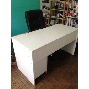 Mesa / Escrivaninha Ricco De Escritório, Madeira Sólida.