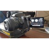 Cámara Nikon D5300 Lente 18-55 + Lente 50mm 1.8 G Af-s