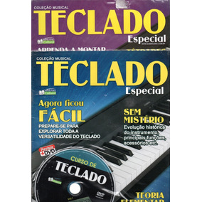 2 Curso De Teclado Vol. 1 E 2 Nível Básico E Intermediário