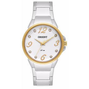 cb8a5ac6df9 Relógio Orient Feminino Cristais Swarovski Fbss1063 - Relógios no ...