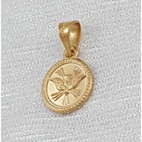 Medalla Troquelada Espíritu Santo Marelo