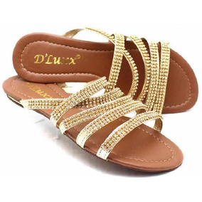 aa27421e5a Sandalia Rasteira Stylus Feminino Gladiadoras - Sapatos para ...