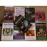 Libros Paquete De 9 Libros De Santeria, Magia Blanca Y Negra