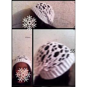 Gorro Invierno Tejido Crochet Calavera Skull Craneo Unisex M e249205d8ee
