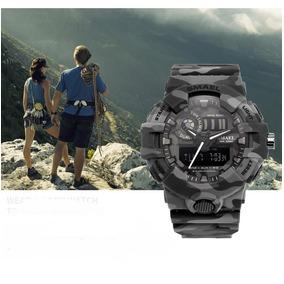 Relógio Militar Modelo S-shock Esportivo Original Smael 8001