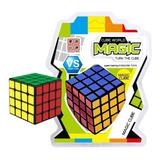 Cubo Magico 4x4 Cube World Magic Habilidad Jyj010 Manias